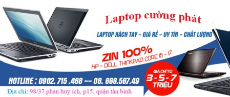 Địa chỉ bán laptop cũ uy tín, cửa hàng bán laptop cũ xách tay uy tín chất lượng giá rẻ