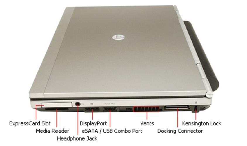 LAPTOP HP 2560P CORE I7 2620M RAM 4GB HDD 250GB