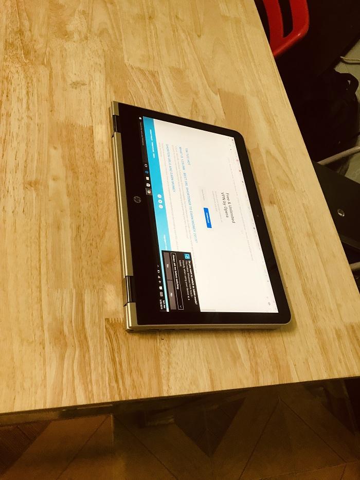 Laptop HP X360 Core i5 Ram 8GB SSD 128GB LCD touch Screen 13.3 inch cảm ứng lật 360 độ giá rẻ
