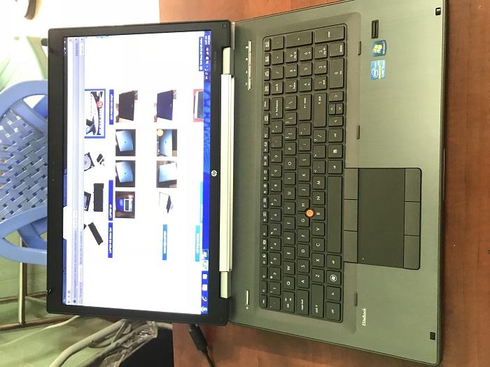 laptop máy trạm hp workstation 8760w chuyên game và đồ họa