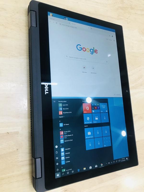 Laptop xách tay Dell E5289 touch 360 độ core i5 7300U ram 8gb SSD 256gb 13.3 inch led cảm ứng đa điểm