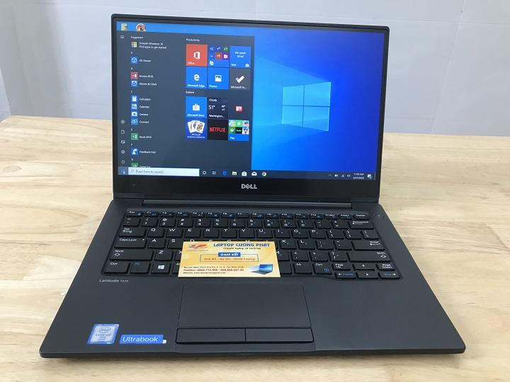 Laptop xách tay Dell E7370 i5 Ram 8gb ssd 256GB 13.3 inch Full viền QHD touch screen